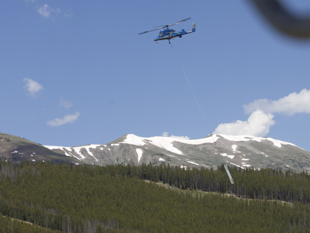 Colorado SuperChair Upgrade Helicopter 2