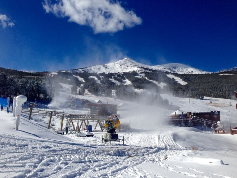 Snow Guns at Breck