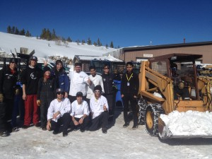 "The Breck Food & Beverage and Grounds Maintenance teams partner to ""do good"" by recycling and sorting waste on the mountain."