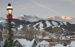 Scenic Breckenridge Sunrise Main Street