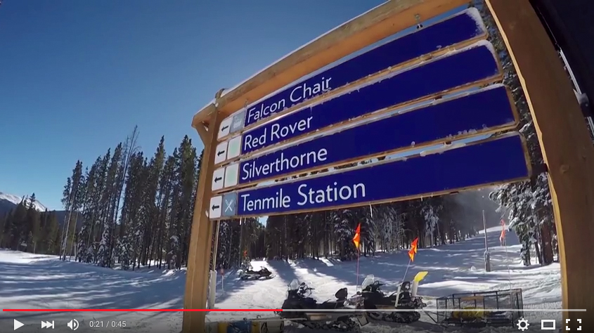 Peak 9 is open