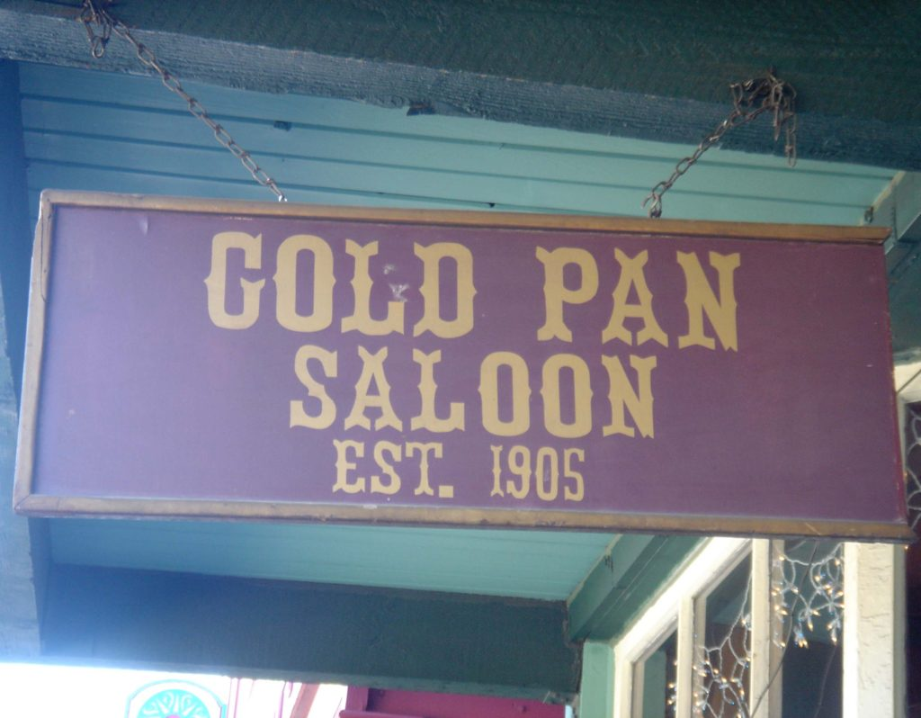 GoldPanSign