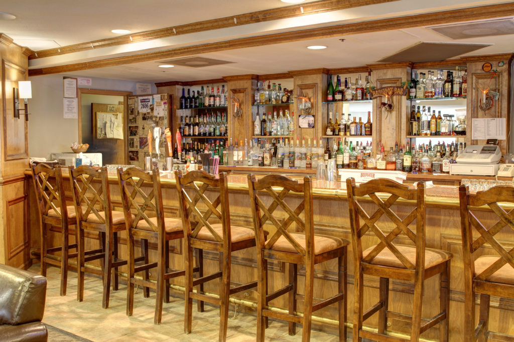 Bar at River Mountain Lodge